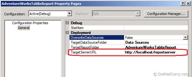 Report Server URL