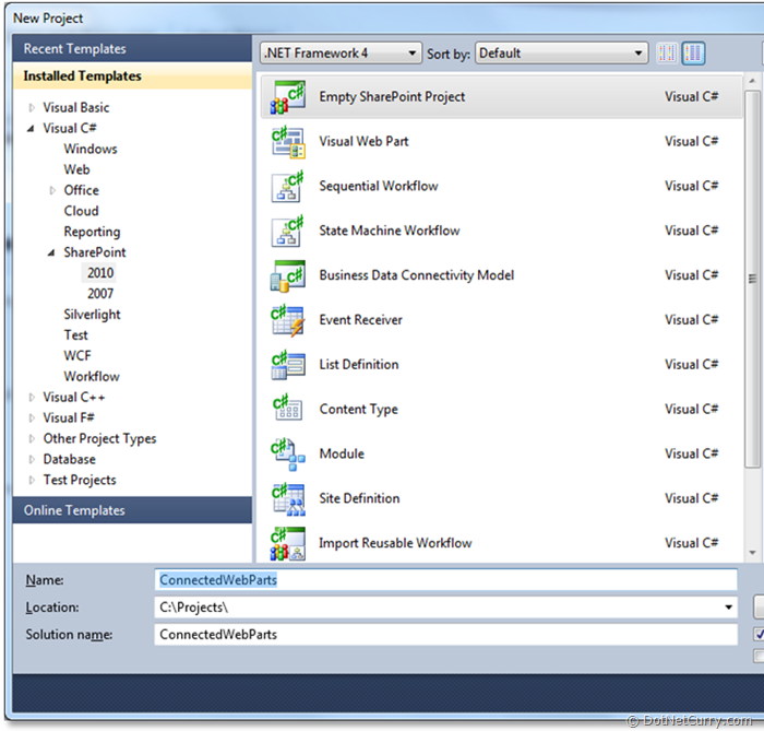 empty-sharepoint-solution