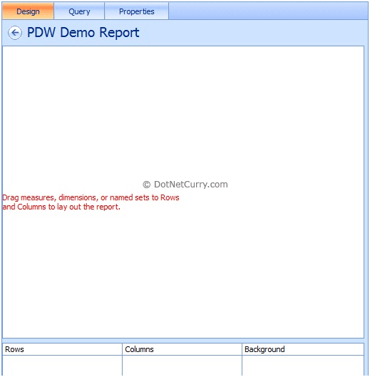 pdw demo report