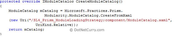 create model catalog