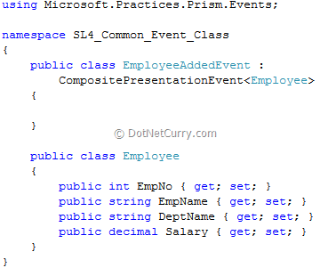 Prism Employee Added Event
