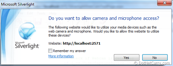silverlight-webcam-security