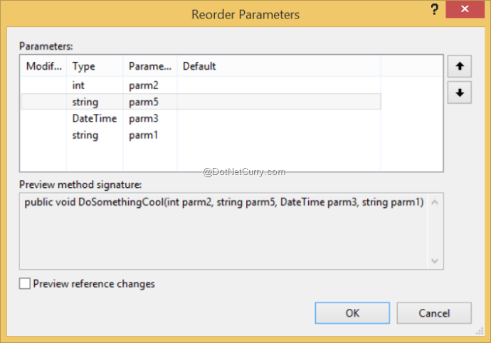 reorder-parameters