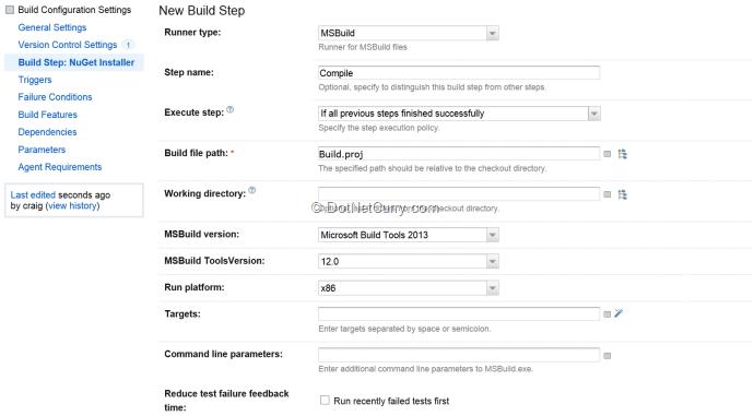 compile-build-setup