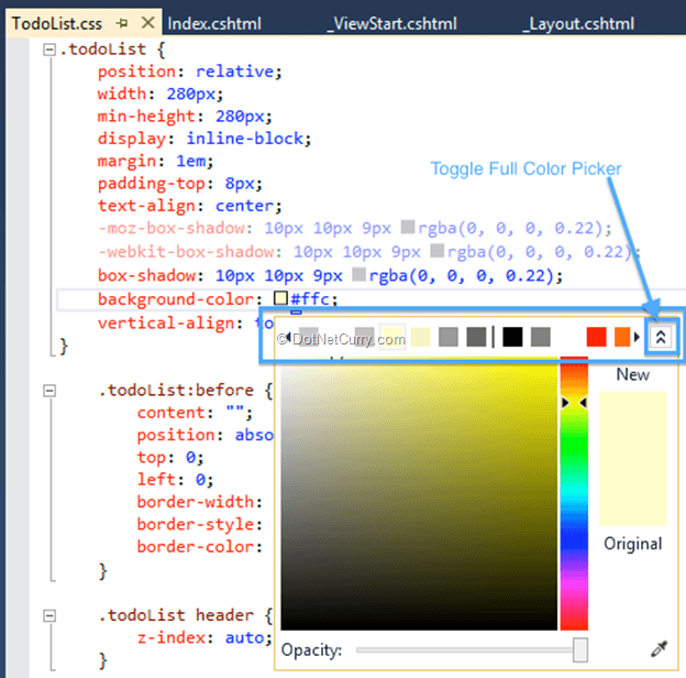 Enhancements For The ASPNET Web Developer In Visual