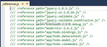 references-js