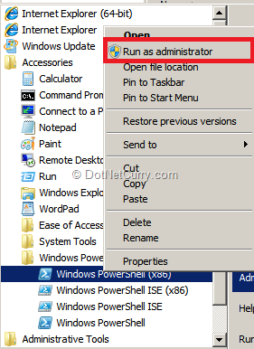 run-windows-powershell