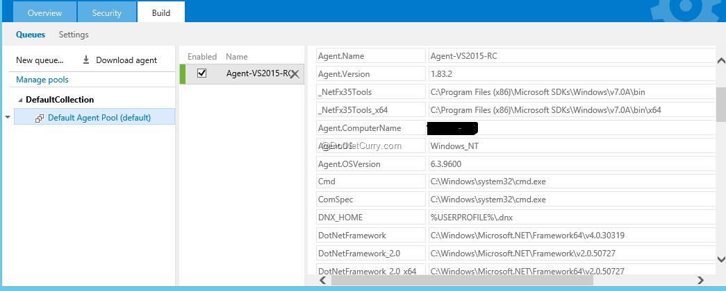 Build Customization in Team Foundation Server (TFS) 2015