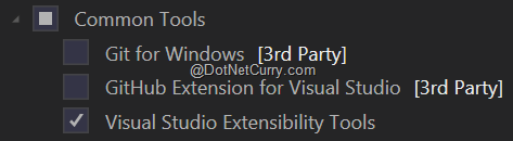 1-visual-studio-extensibility-tools-feature