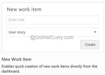 new-workitem-widget