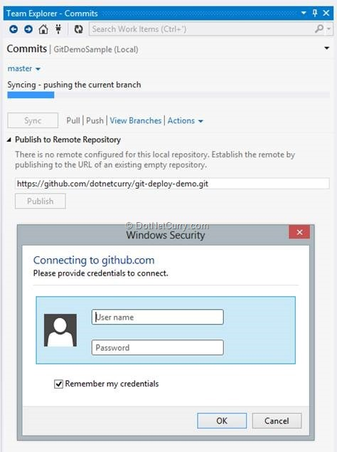 Git Integration in Visual Studio 2012 after Update 2