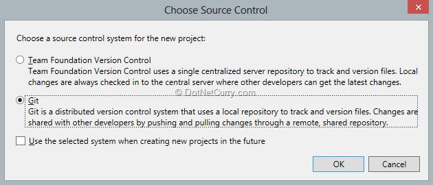 select-git-as-source-control