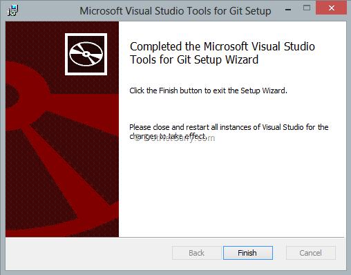 visual-studio-for-git-setup