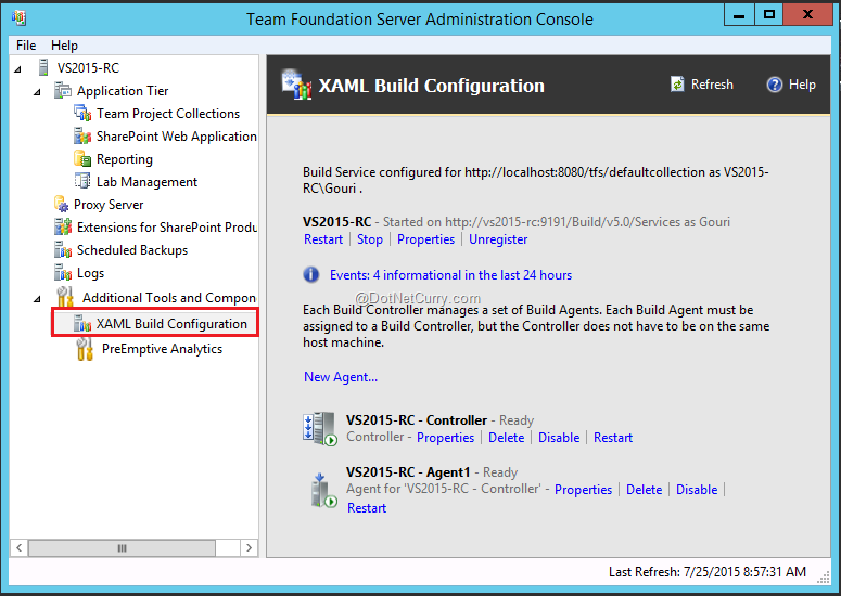 New Build Features in TFS 2015 and Visual Studio Online | DotNetCurry