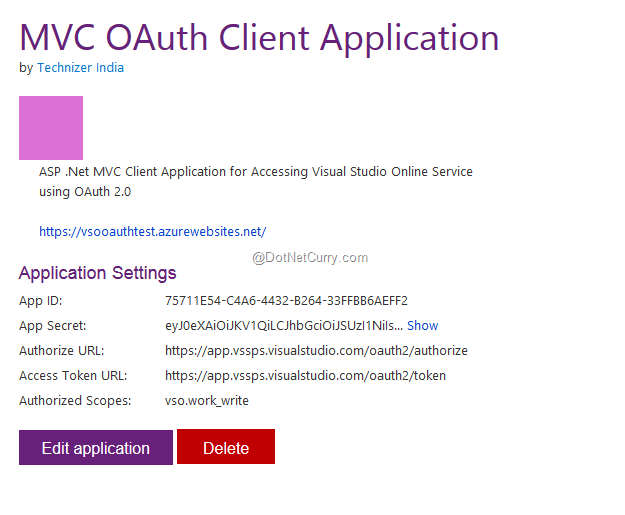 Using REST APIs of TFS and Visual Studio Online | DotNetCurry