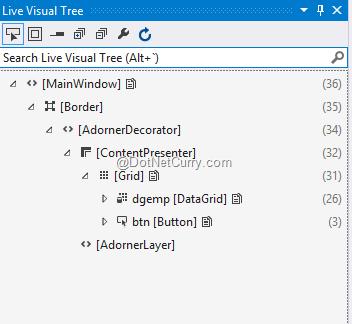 live-visual-tree