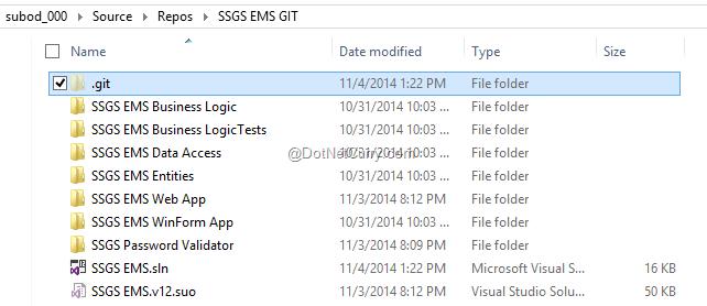 git-folder