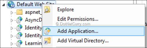 iis-add-application