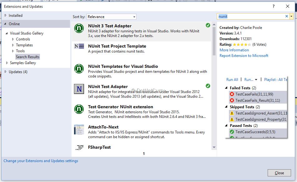 Code Quality Tools in Visual Studio 2015 | DotNetCurry