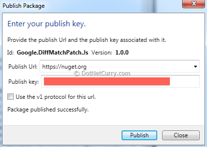 deploy-nuget-package