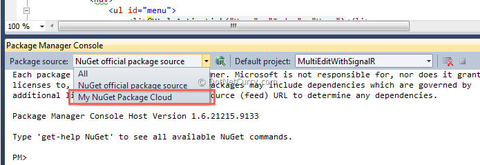 nuget-package-cloud