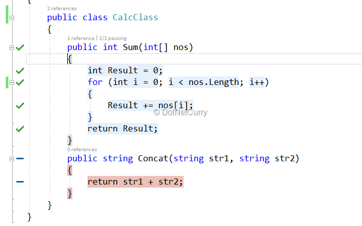 Live Unit Testing in Visual Studio 2017 | DotNetCurry