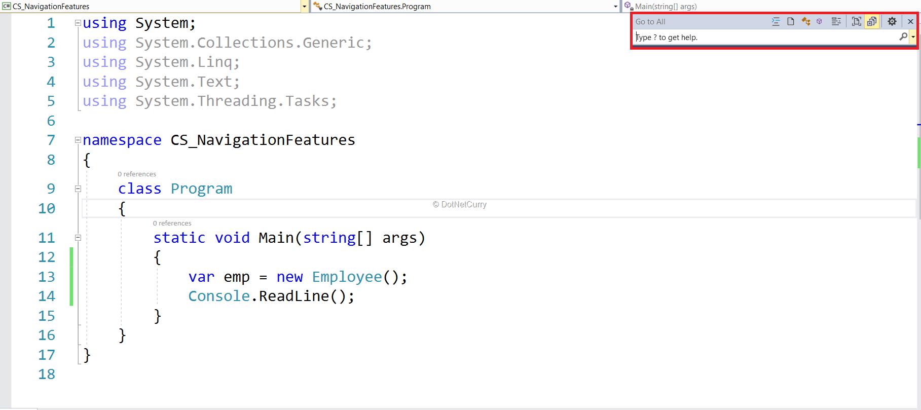 code-navigation-dialog