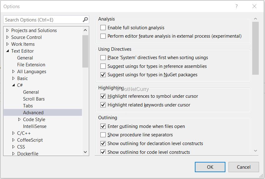 Visual Studio 2017 - What's New | DotNetCurry