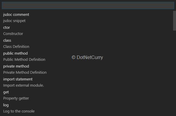 Visual Studio Code (VS Code) Condensed | DotNetCurry