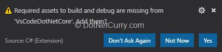 notification-for-creating-build-debug-assets