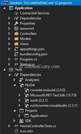 solution-explorer-in-visual-studio-2017
