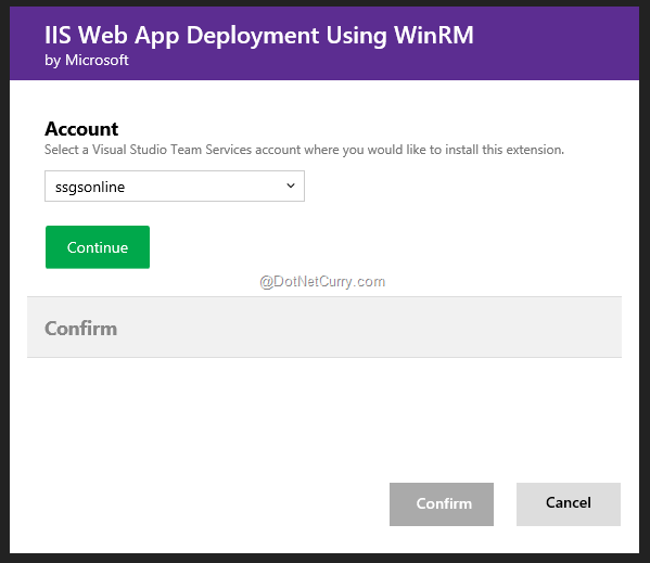 confirm-linking-vsts-winrm-tasks