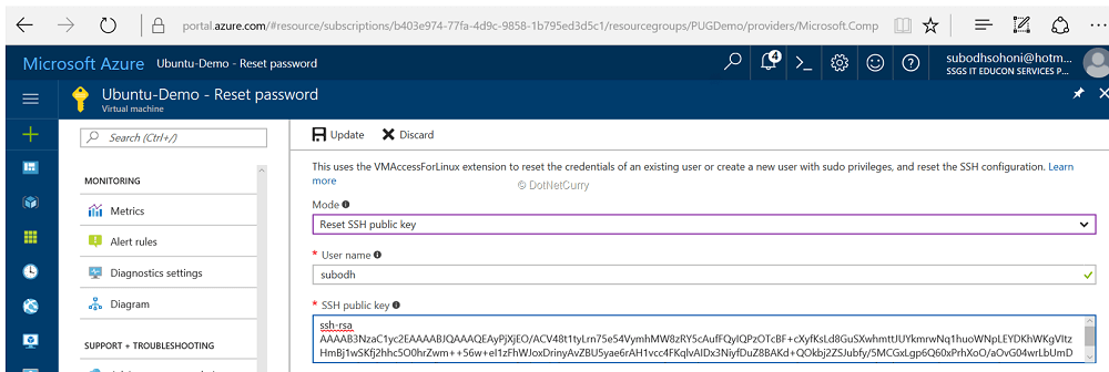 ssh-public-key-ubuntu
