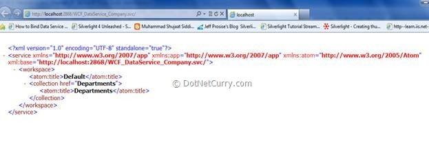 WCF Data Service Browser