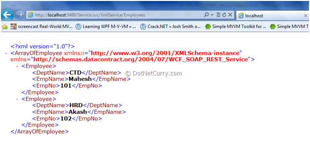 XML Service