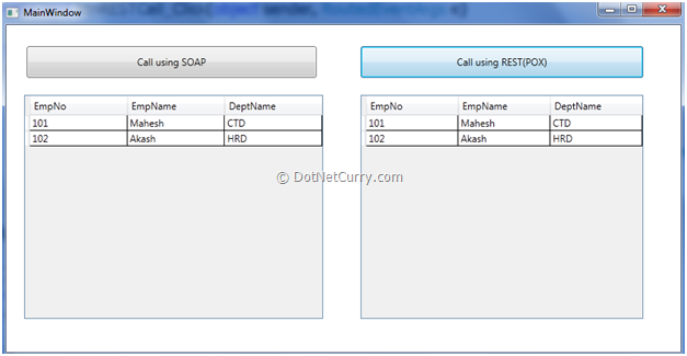 Expose WCF 4 0 Service as SOAP and REST | DotNetCurry
