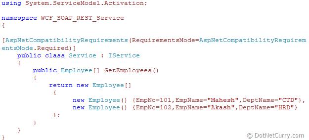 wcf-service-aspnet