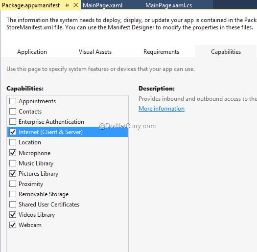 ScreenCapture API in Windows Phone 8 1 | DotNetCurry