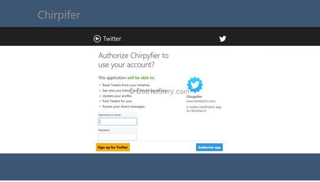 chirpifier