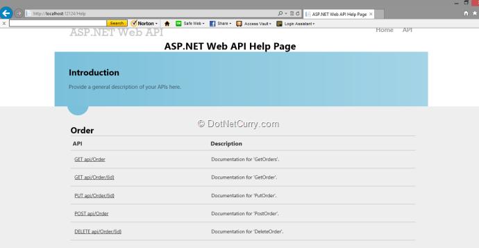 web-api-help-docs