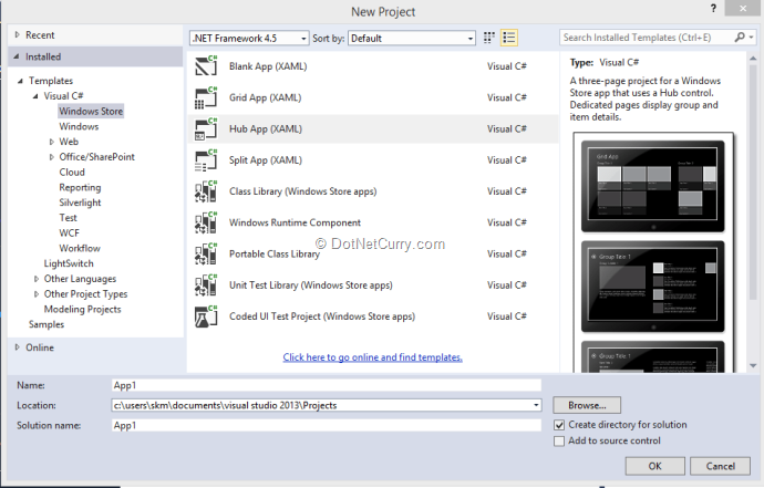 What's new in XAML for Windows 8 1 | DotNetCurry