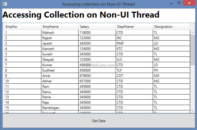 DataBinding Features in WPF 4 5 | DotNetCurry