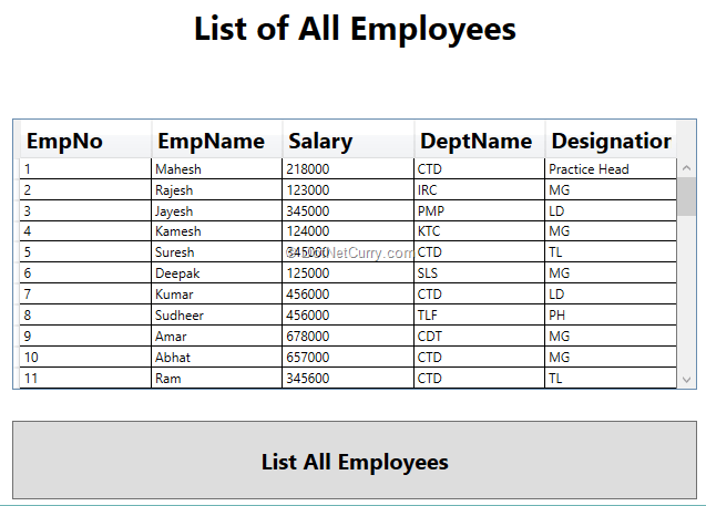 list-all-employees