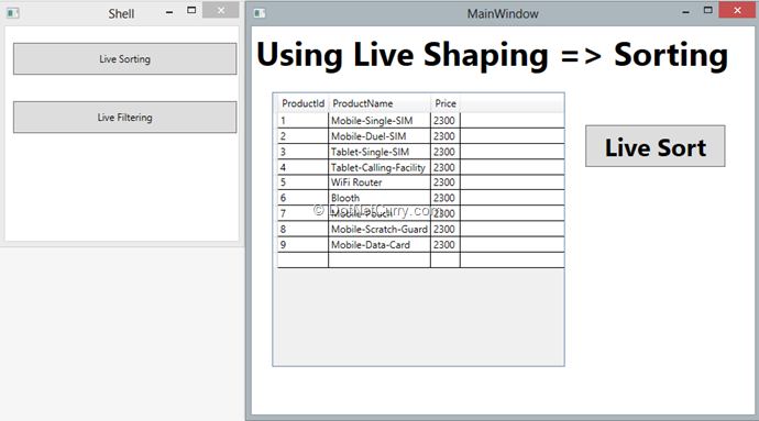 runtime-live-shaping