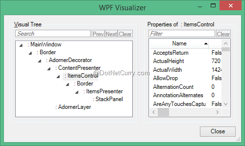 WPF ItemsControl Fundamentals - Part 1 | DotNetCurry