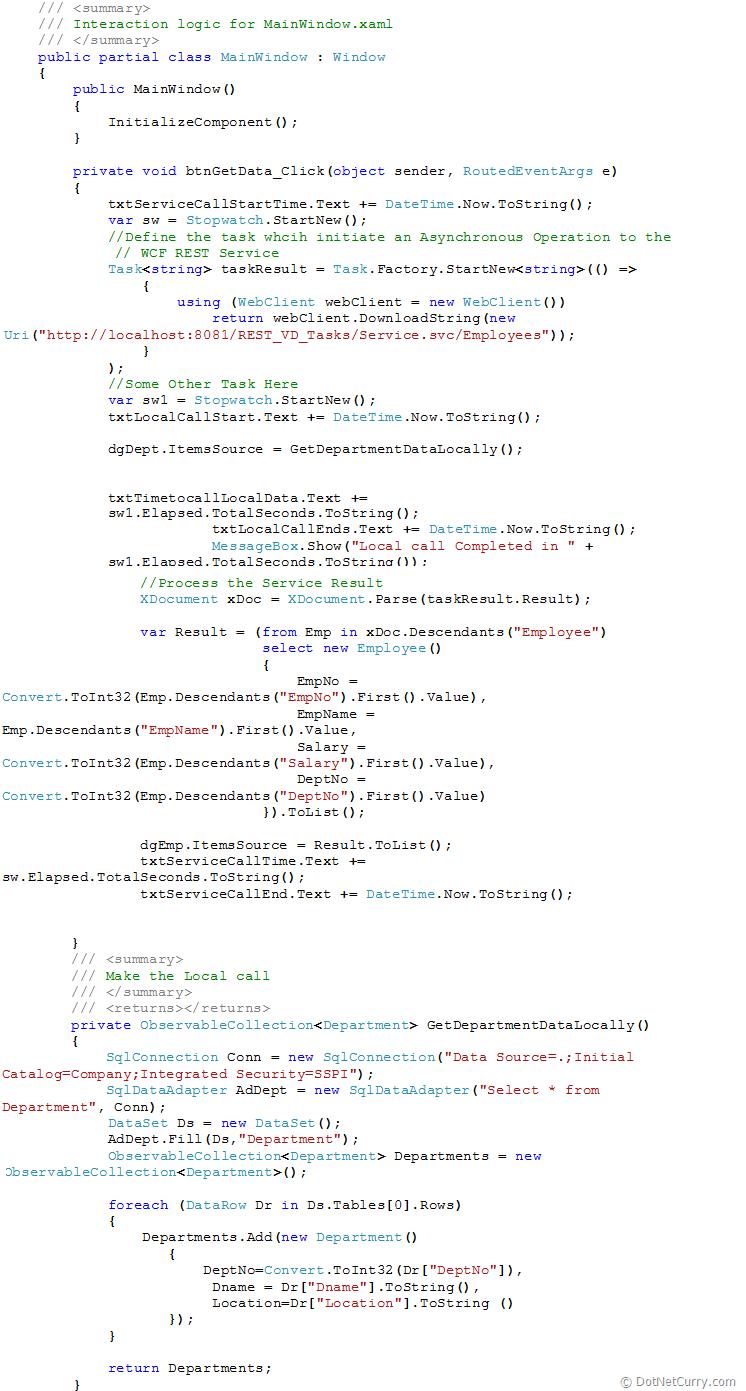 WPF Parallel Task Data