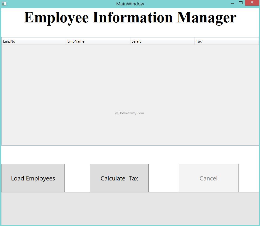 wpf-employee
