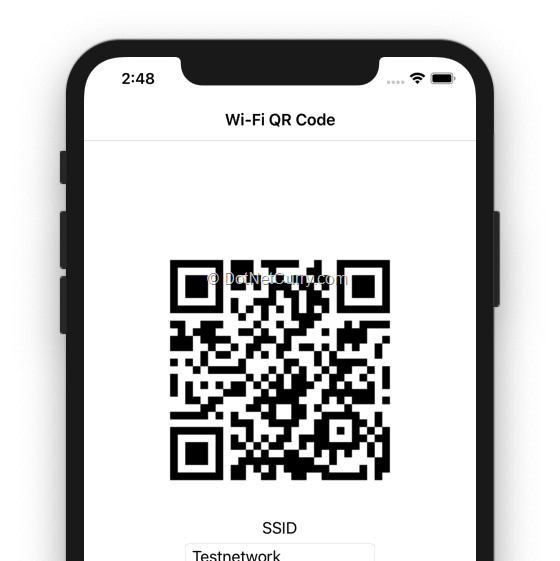 barcode-ios-view